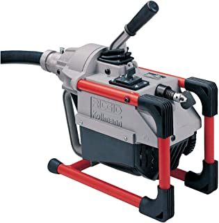 RIDGID 66497 K-60SP-SE Sectional Machine, Sectional Sewer Machine with A-61 Auger Tool Kit and A-62 Drain Cable Kit, Drain Cleaner Machine