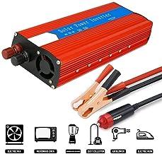 EnRise Power Inverter Onda Sinusoidale Modificata 3000W Picco 6000W Trasformatore di Potenza Convertitore DC 24V a 220V 230V AC Invertitore di Tensione con Porte USB 2.4A