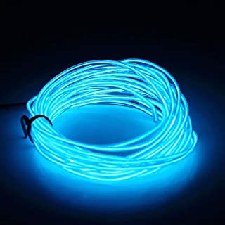 BOXIANGY 3M flexible wire rope battery-powered flexible neon light controller LED light for car party wedding decoration G...