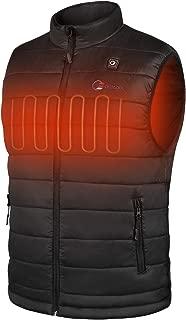 Lyeiaa Beheizte Weste f/ür Herren Damen Waschbare Warme Heat Jacke mit 3 Fakultativ Temperatur, f/ür Outdoor Sports Wandern Jagd Motorrad Camping Elektrische Beheizte Jacke mit USB-Lade Heizweste
