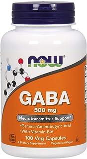 Now Foods Gaba 500mg, 100 Capsules