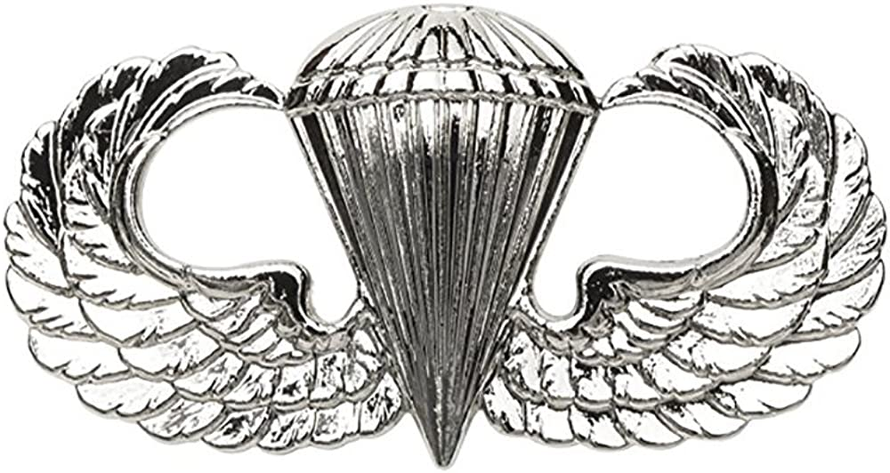 Some reservation Parachutist Jump Wing Basic Army Badge US Branded goods
