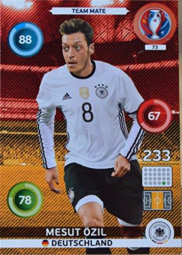 carte PANINI EURO 2016 #73 Mesut Özil