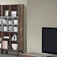 Maison Concept Morgan multi-function shelves- Brown & Light Grey, H 1750 mm x W 290 mm x D 800 mm