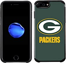 Prime Brands Group Cell Phone Case for Apple iPhone 8 Plus/iPhone 7 Plus/iPhone 6S Plus/iPhone 6 Plus - NFL Licensed Green Bay Packers Textured Solid Color