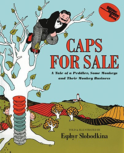 Caps for Sale: A Tale of a Peddler, Some Monkeys and Their Monkey Business (Young Scott Books)の詳細を見る