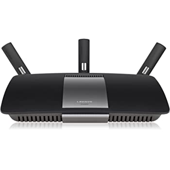Linksys AC1900 Wi-Fi Wireless Dual-Band+ Router with Gigabit & USB 3.0 Ports, Smart Wi-Fi App Enabled to Control Your Network from Anywhere (EA6900)