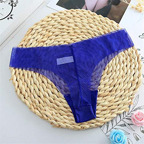 LTHH Sexy ultradünnes Perspektivenhöschen für Damen, blau