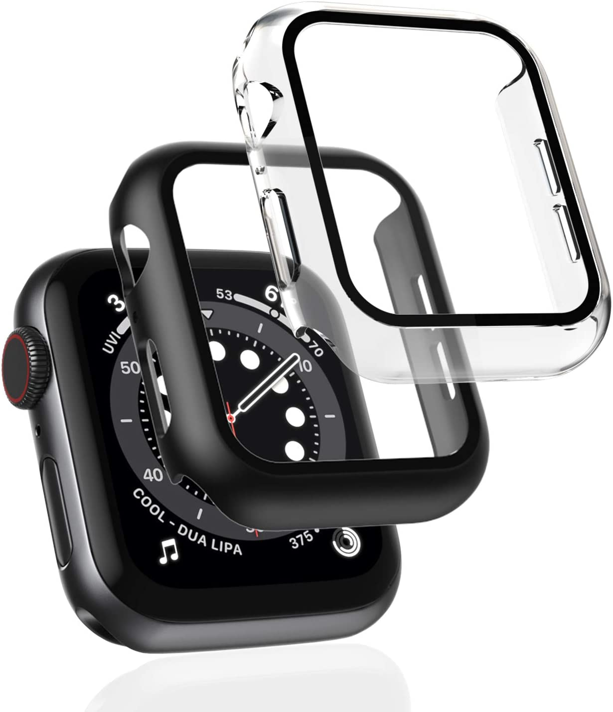 2 Pack Case for Apple Watch SE Screen Series 5 4 Very popular Max 40% OFF 6