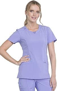 Women's Infinity Crew Neck Scrubs Shirt