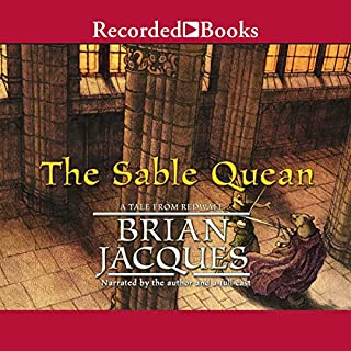 The Sable Quean audiobook cover art
