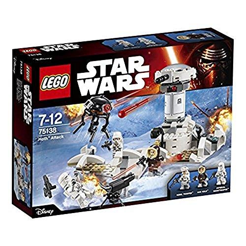 LEGO STAR WARS - Ataque a Hoth, Multicolor (75138)