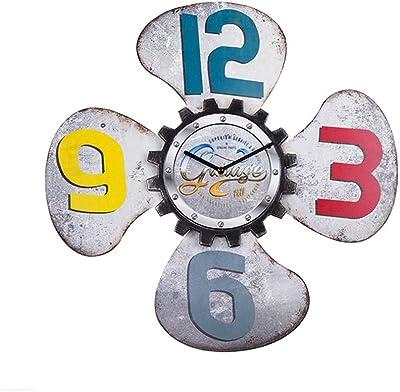 BGGZXX Mudo Reloj De Pared Vintage Creativo Art, Protección del ...