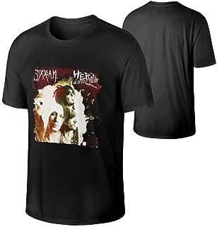 Sixx Am The Heroin Diaries Soundtrack Men's Casual Loose Short T Shirt