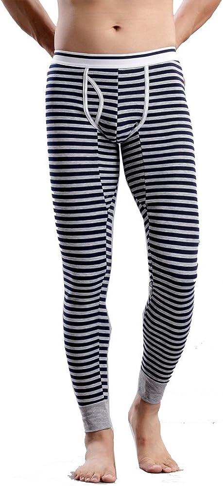 Louis Rouse Men's Poly Spun Velour Warmth Leggings Men's Fashion Pants