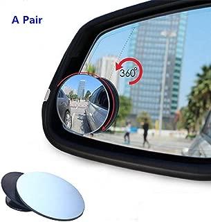 Specchietto retrovisore per auto Extraela adatto per auto per specchietto retrovisore auto universale 2 pezzi in vetro HD con grandangolo a 360/°
