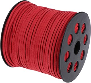 Baoblaze 2.7mm Faux Leather Suede Beading Cords