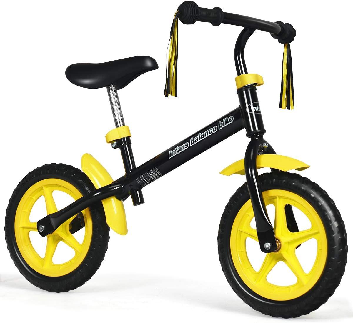 INFANS 12'' Balance Bike for 3-6 Fashion No-Pedal Walking Bik Pre Years price