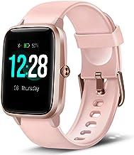 LETSCOM Smartwatch, Fitness Tracker 1,3 Zoll Farbdisplay Uhr mit Herzfrequenzmesser..