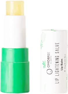 Omorfee 100% Organic Lip Lightening Stick for Dark Lips, Lip Whitening Lipstick with SPF, Natural...