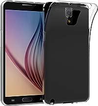 JETech Cover Compatibile Samsung Galaxy Note 3, Morbido Trasparente Custodia con Assorbimento degli Urti, HD Chiaro