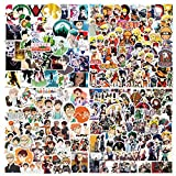 Popular Classic Anime Stickers for Water Bottles Laptop Stickers Decals for Anime Lovers 200 Pcs Mixed Anime Stickers