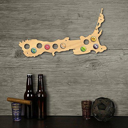 Neuseeland Karte Bierkarte Bier Gap Karte 109 Farben - ein Geschenk für Männer Eine lustige Geschenkidee für Bierfreunde und Geschenke für Bierfreunde & Bier Geschenke - Platz