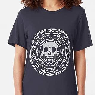 MIZEN - Elizabeth Swann's Coin Slim Fit - Cat Shirt - Cat T-shirts For Men Women - Cat Owner Cat Mom Dad Shirts - Cat Lover - Cat Gift Kids