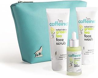 mCaffeine Summer Friendly Green Tea Face Purifying Kit