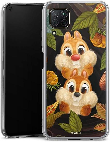 Coque Compatible avec Huawei P40 Lite Étui Housse Disney Tic et Tac Produit sous Licence Officielle