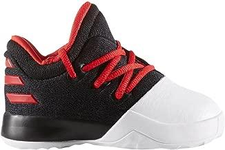 adidas Harden Vol 1 Black/Scarlet/White Infant Infant Shoes (BW0628)