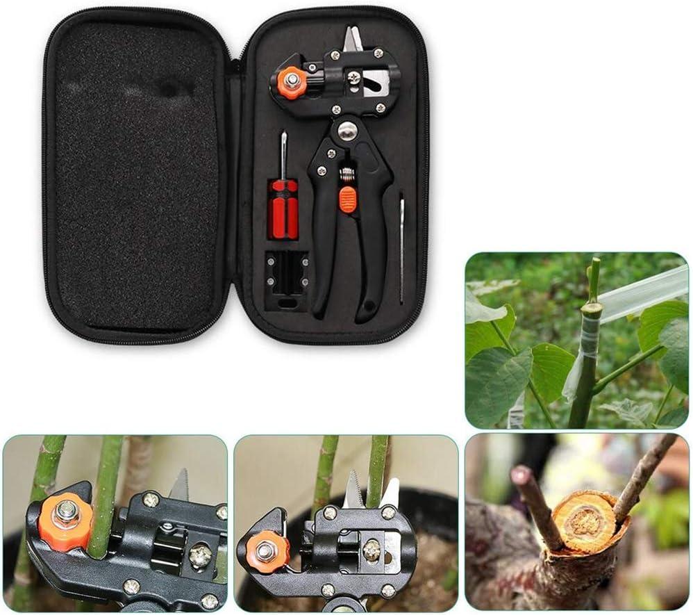 rama de planta rama KATUR Kit de herramientas de poda de poda de injerto de jard/ín /árbol frutal tijeras de corte de injerto vid podadora