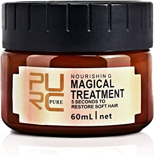 2Pcs Hair Treatment Mask, Natural Ingredients, Deep Conditioner for Dry or Damaged Hair, Hair Care, Repair Damaged Hair Root Hair Keratin Hair and Scalp Treatment, For All Hair Types, Men & Women