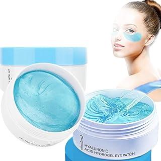 Augenpads, Anti-Aging Augenmaske, 60 Stück Hyaluronsäure Augenringe Augenmaske, Eye Patches entfernen Taschen, dunkle Krei...