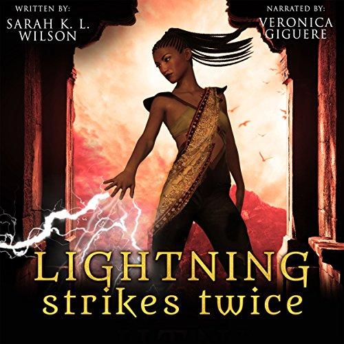 Lightning Strikes Twice audiobook cover art