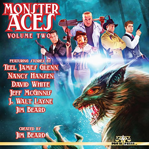 Monster Aces, Volume 2 audiobook cover art