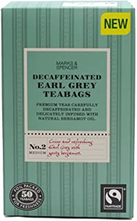Marks & Spencer Earl Grey Tee koffeinfrei 50 Teebeutel