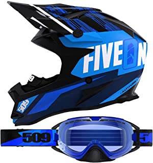 509 Altitude Helmet Goggle Combo - Particle Blue (SM)