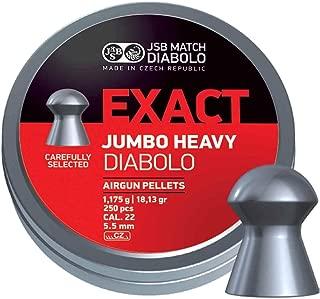 JSB Diabolo Exact Jumbo Heavy .22 Cal, 18.13 gr.- 250 Ct.