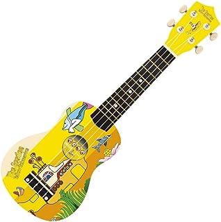 JHS, 4-String The Beatles YELLOW SUBMARINE DESIGN Soprano Ukulele, (YSUK02)