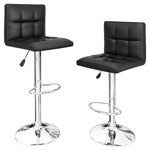 sale retailer ba9f5 d0e50 Black Bar Stools: Amazon.co.uk