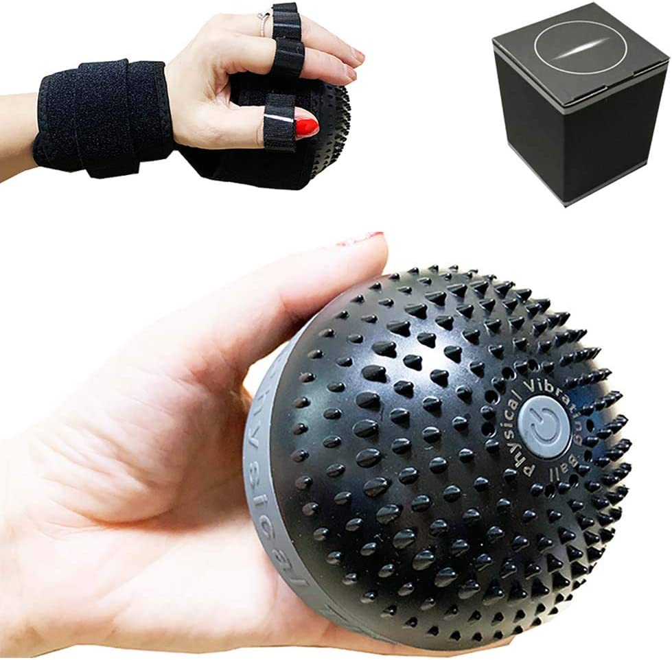 Electric Massage Ball for 新作 大人気 Fascia 70%OFFアウトレット Finger Rehabilitation Training