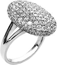 OCARLY 925 The Twilight Cubic Zirconia Ring Saga New Moon Breaking Dawn Crystal Bridal Engagement Wedding Party Anniversary Jewelry