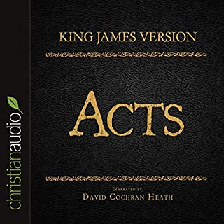 Holy Bible in Audio - King James Version: Acts audiobook cover art