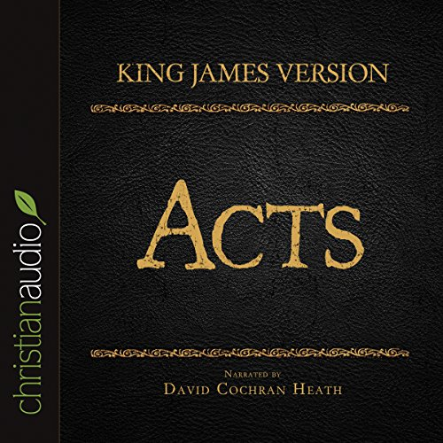 Holy Bible in Audio - King James Version: Acts cover art