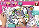 Educa - Colouring Puzzle de 150 Piezas, Puzzle Infantil para Colorear de Unicornio, a Partir de 6 años (17828)