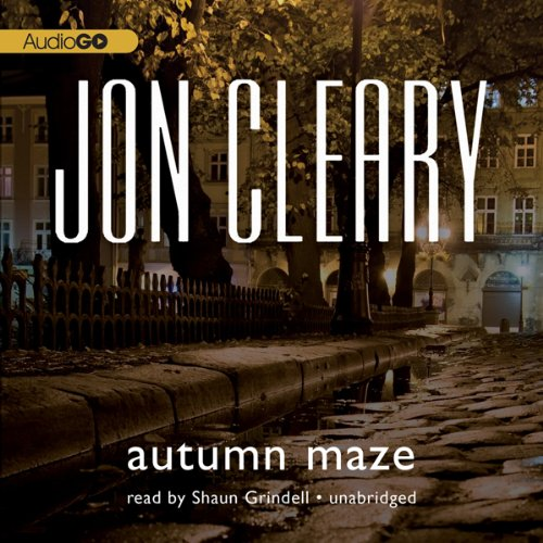 Autumn Maze audiobook cover art