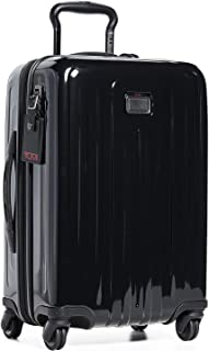 TUMI - V4 International Expandable 4 Wheeled Carry-On - 22-Inch Hardside Luggage for Men and Women - Black