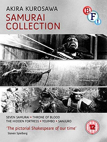 Collectio-Kurosawa: The Samurai Collection (4 Blu-Ray) [Edizione: Regno Unito] [Import]