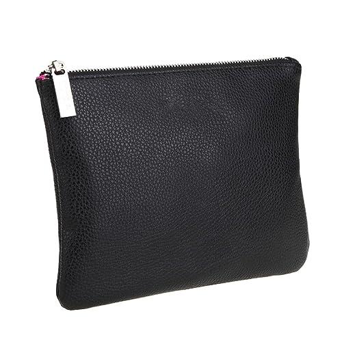 49c1e43edba0 LOUISE MAELYS Double Layers Zipper Cosmetic Bag Makeup Brush Holder Bag